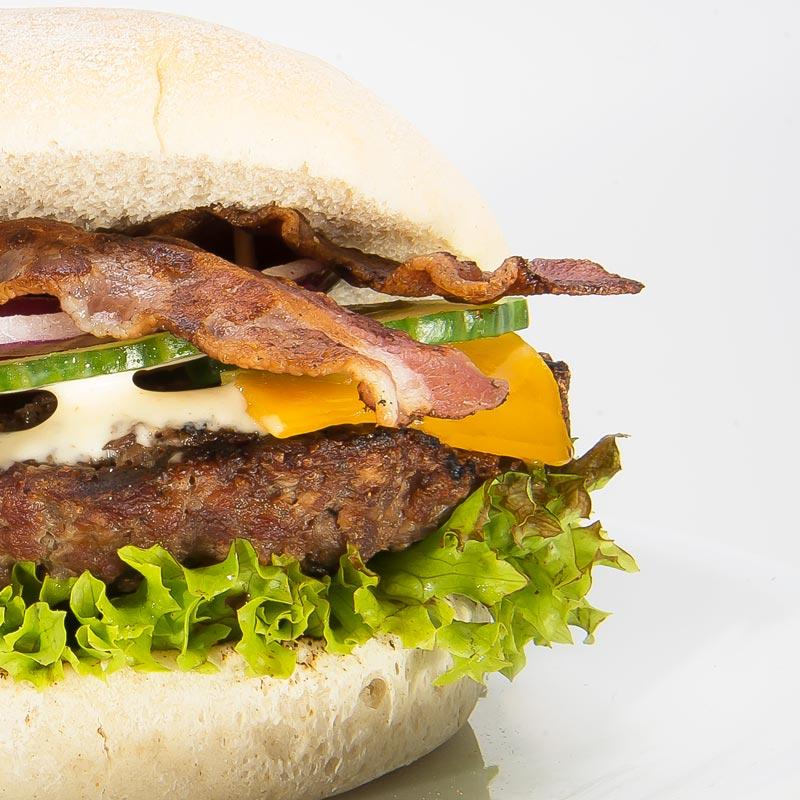 Bar Bee Q Bacon Cheese Burger